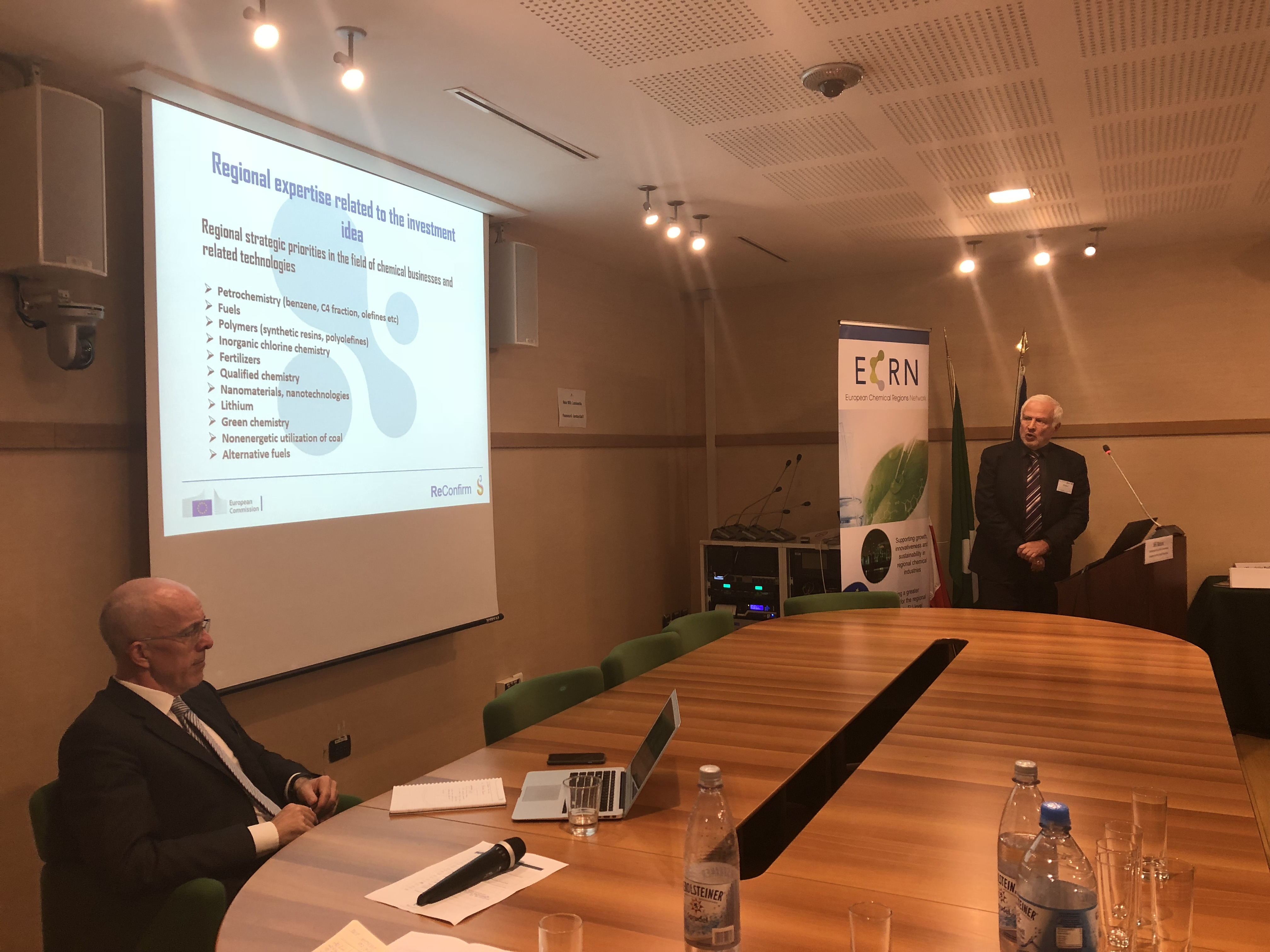Thematic Area Chemicals Kick-off Meeting – European Chemical Regions