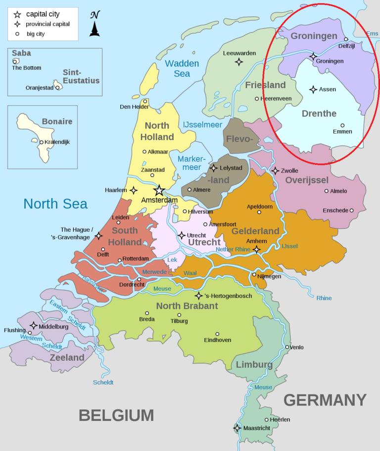 Groningen and Drenthe